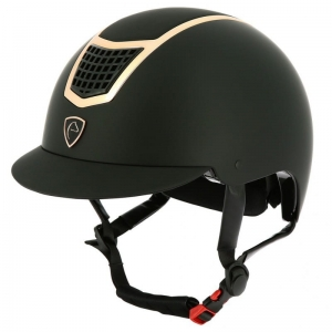 EQUITHÈME Kask AIRY Czarny/Rosegold