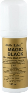 GOLD LABEL Magic Black wosk czarny do skór